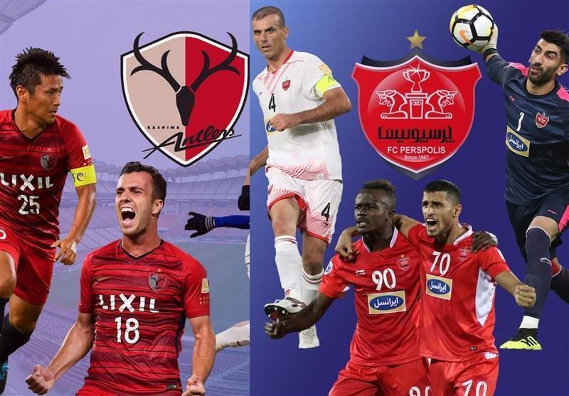 برتری آماری پرسپولیس بر کاشیما آنتلرز در آستانه فینال لیگ قهرمانان آسیا