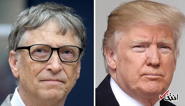 نگرانی بنیانگذار مایکروسافت از مسائل زیست محیطی ، بیل گیتس سیاست های ترامپ را تاسف بار خواند