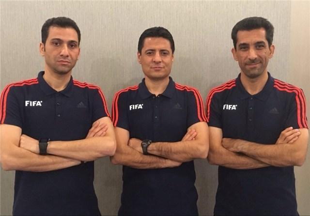 قضاوت تیم داوری ایران در فینال سوزوکی کاپ آسیا