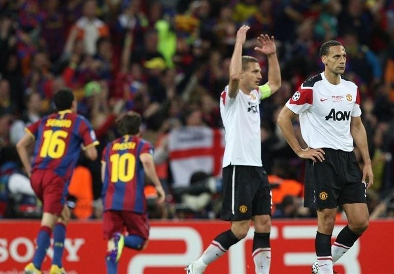 فردیناند: بوسکتس در انتها فینال لیگ قهرمانان بازیکنان منچستریونایتد را دست انداخت