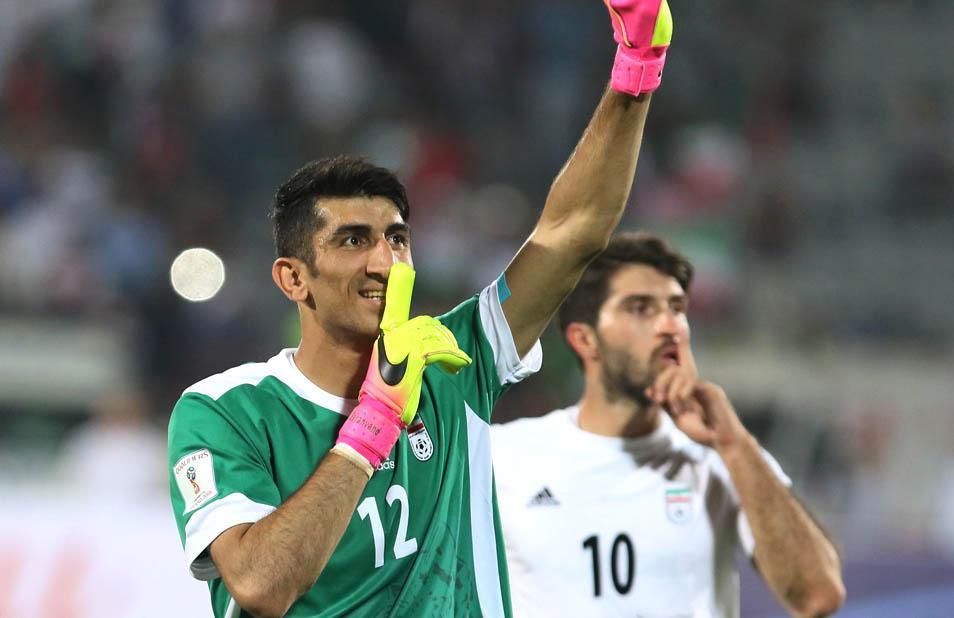 بیرانوند: طرفداران از تیم ملی فوتبال ایران انتقاد نکنند