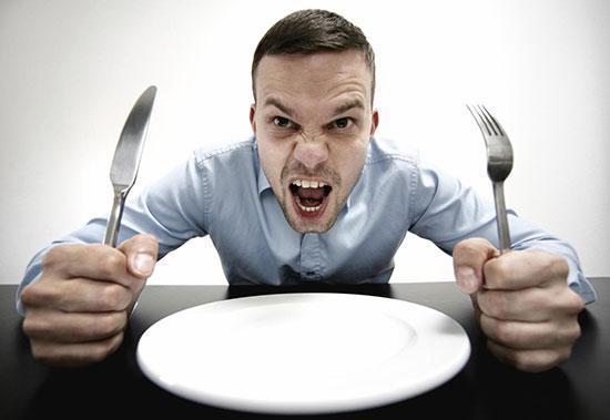 با عجله غذا نخورید!