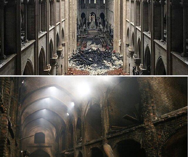 یک ماهگی دو آتش سوزی مهیب؛ از تبریز تا پاریس