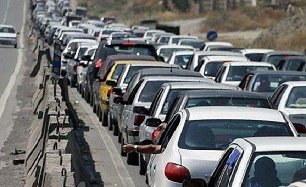 ترافیک سنگین و نیمه سنگین در جاده های شمالی