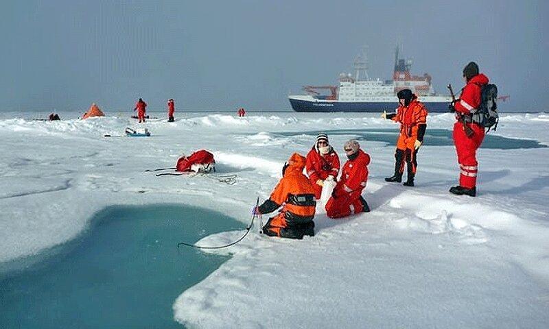 بارش برف آلوده به پلاستیک در منطقه بکر قطب شمال