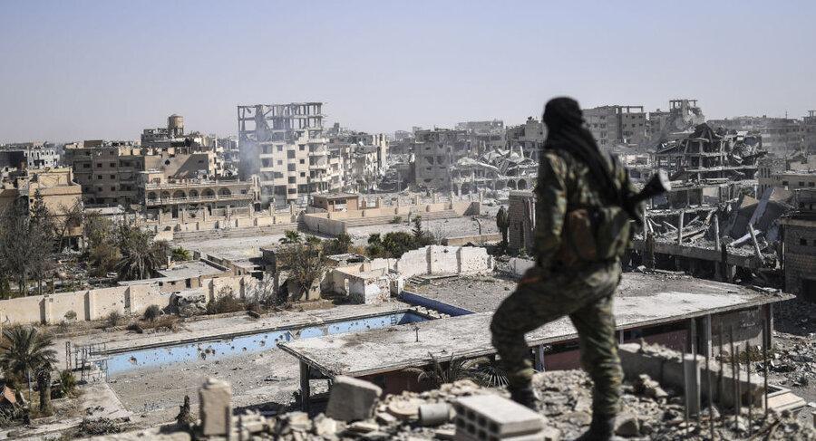 جلاد داعش در رقه بازداشت شد