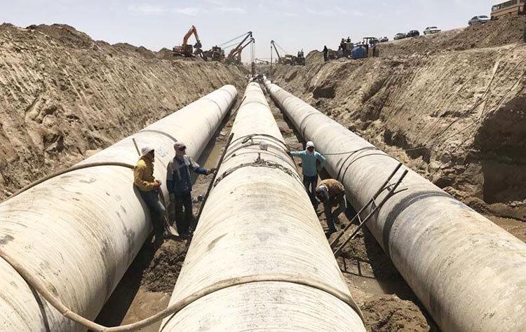 بهره برداری از طرح آبیاری دشت سیستان هم زمان با سفر رئیس جمهوری