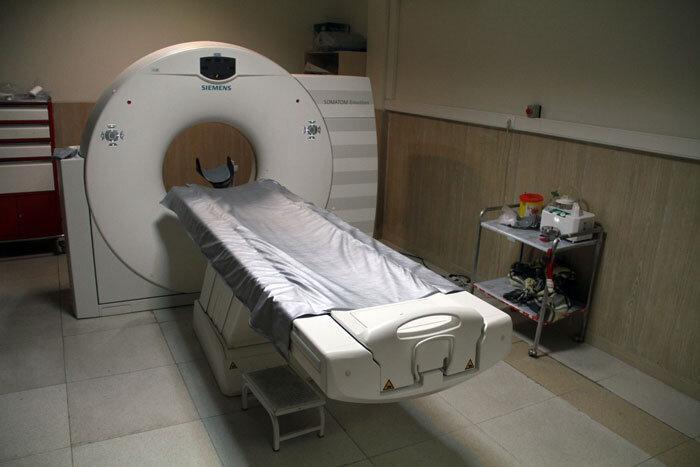 افتتاح بخش تصویربرداری بیمارستان شهدای گمنام