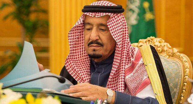 دستور پادشاه عربستان برای اعطای نشان به افسران شرکت نموده در جنگ یمن