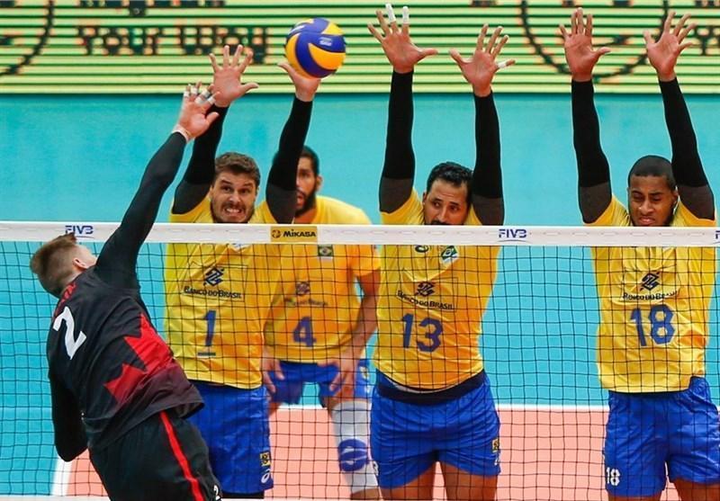 پیروزی برزیل در سرمای کوریتیبا