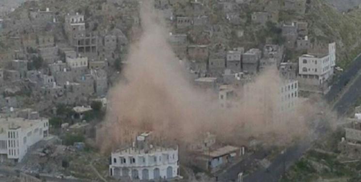 حمله توپخانه ای ائتلاف سعودی به الحدیده