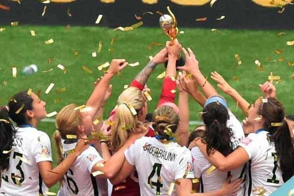 آمریکا برای سومین بار قهرمان جام جهانی فوتبال زنان شد