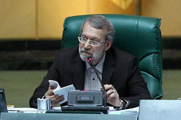 لاریجانی: رعایت حق الله در عالم سیاست کم دیده می گردد ، سیاستمدار واقعی کسی است که در ادای حق مردم پیشگام باشد