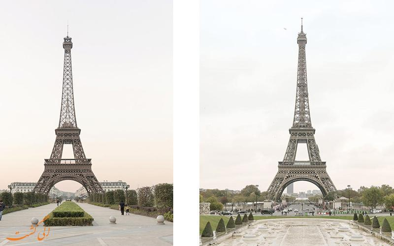 از این به بعد برای دیدن برج ایفل دیگر به پاریس نروید!