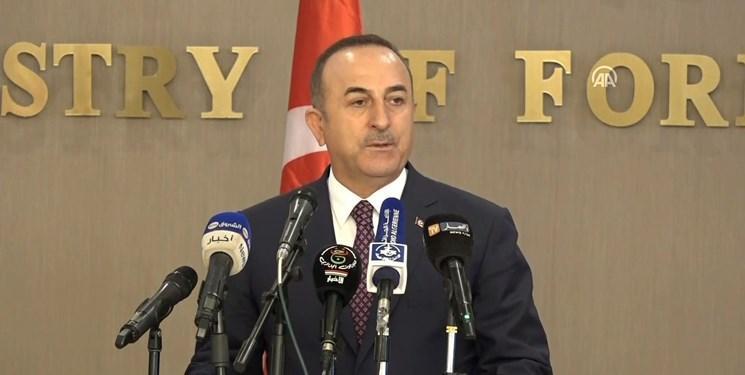 چاووش اوغلو: قبل از اقدام نظامی به طرف های مرتبط و دمشق اطلاع می دهیم