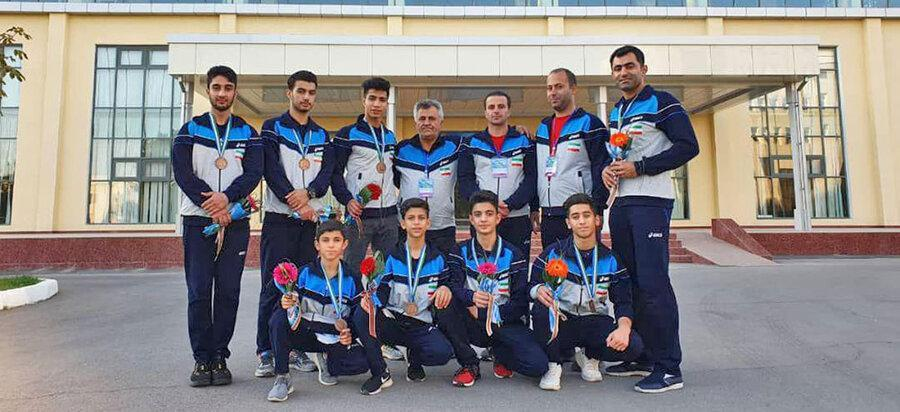 کسب سه مدال برنز توسط تیم های ملی آکروباتیک ژیمناستیک در مسابقات قهرمانی آسیا