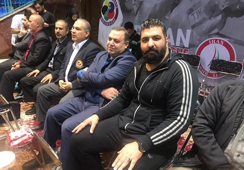 حضور سرمربی تیم ملی بوکس در سوپر لیگ کاراته
