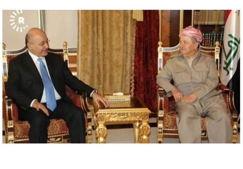 عراق، ورود برهم صالح به اربیل ، درخواست دستگاه های امنیتی از تظاهرات کنندگان برای دوری از مراکز دولتی