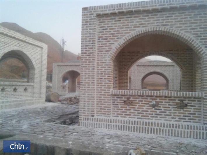 احداث زیرساخت اقامت موقت موقت در روستای هدف گردشگری پیرحاجات طبس