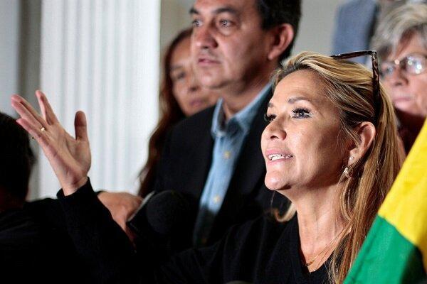آمریکا رئیس جمهور موقت بولیوی را به رسمیت شناخت