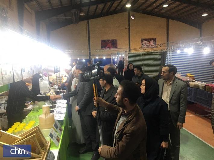 نخستین نمایشگاه ملی صنایع دستی و سوغات در زاوه برگزار گردید