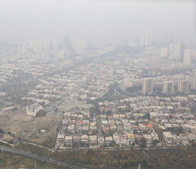 وزش باد آلودگی هوای تهران را کاهش داده است