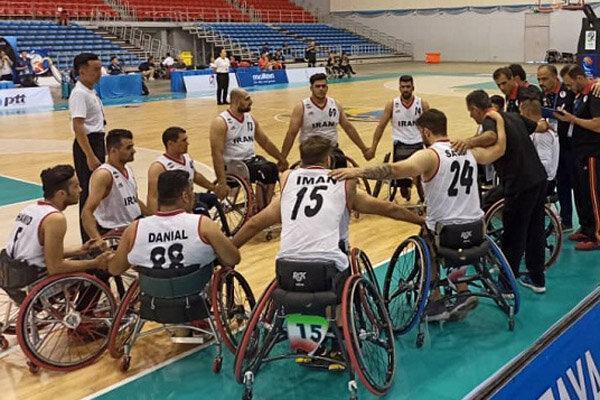 شکست تیم ملی مردان بسکتبال با ویلچر کشورمان برابر استرالیا