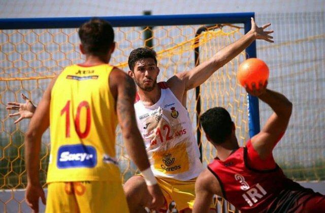 هشتمی جهان برای تیم ملی هندبال ساحلی ایران