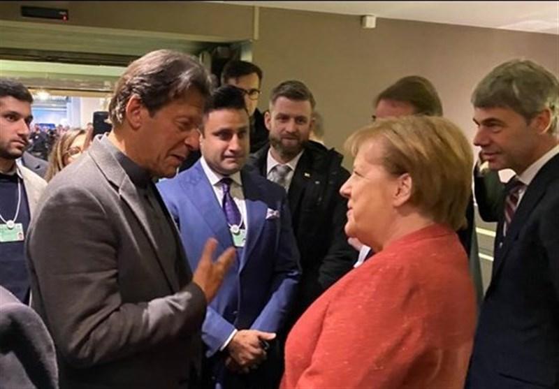 دعوت مرکل از عمران خان برای سفر به آلمان