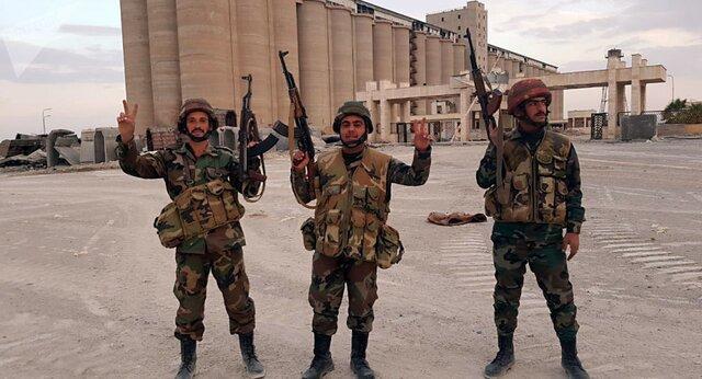 ارتش سوریه یک منطقه استراتژیک را از تروریست ها پس گرفت