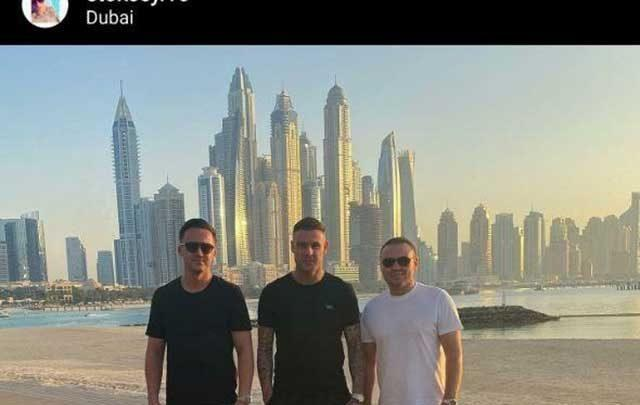 مهاجم جدید پرسپولیس در دبی، عکس