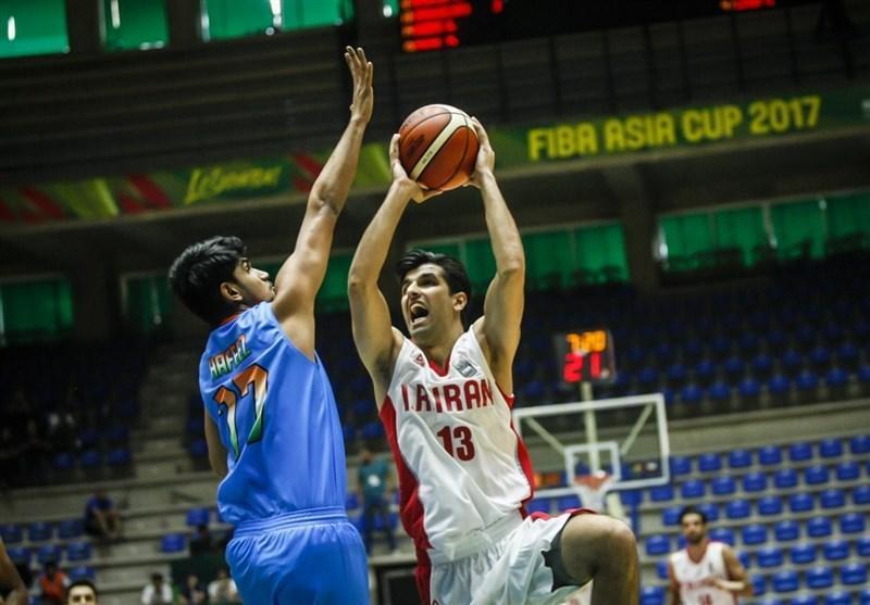 رجحان بسکتبالیست های ایران برابر سوریه