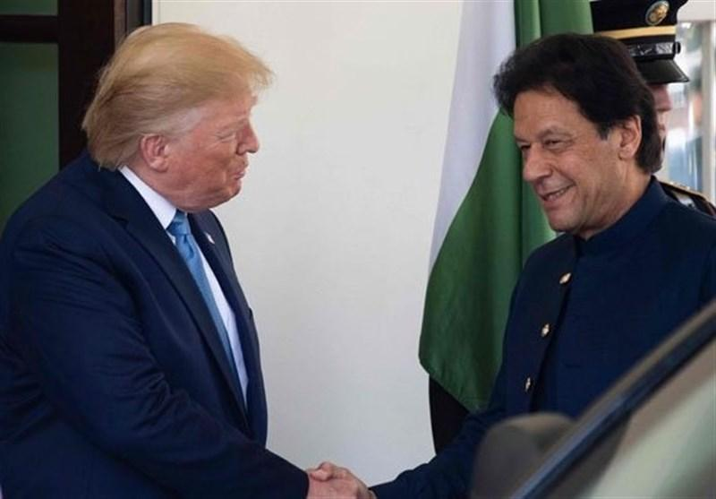 گفتگوی تلفنی عمران خان و ترامپ پیرامون تحولات جدید منطقه
