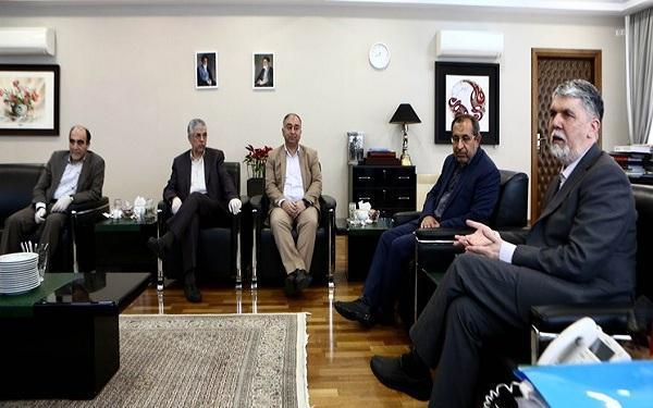 اعضای کمیسیون فرهنگی مجلس با وزیر ارشاد دیدار کردند
