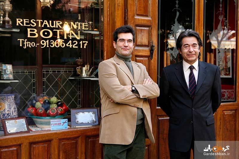 رستوران بوتین مادرید؛ قدیمی ترین رستوران جهان، عکس