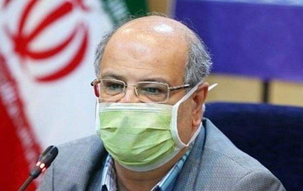 زالی: تهران هنوز در شرایط قرمز واقع شده است
