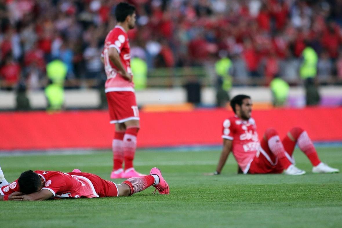 خبرنگاران پرسپولیس به جام نرسید اما هوادارانش قهرمان شدند