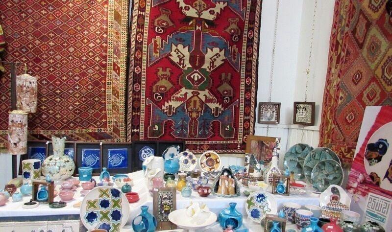 خبرنگاران کام تلخ صنایع دستی شهرری از زهر کرونا