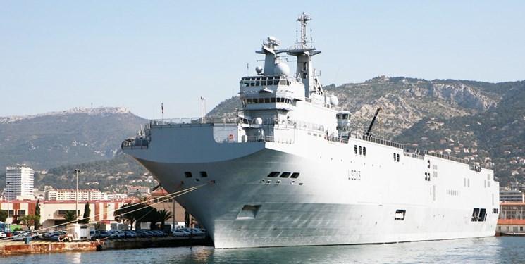 ممانعت نیروی دریایی فرانسه از بارگیری یک نفتکش در لیبی