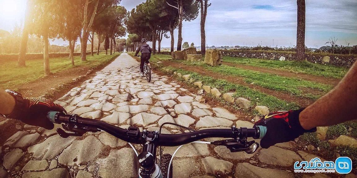 راهنمای تور دوچرخه سواری در جاده آپیا؛ جاده باستانی رم
