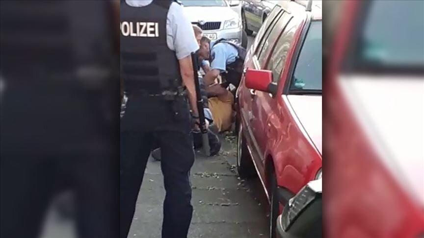 حادثه مینیاپولیس این بار در آلمان رخ داد، عکس