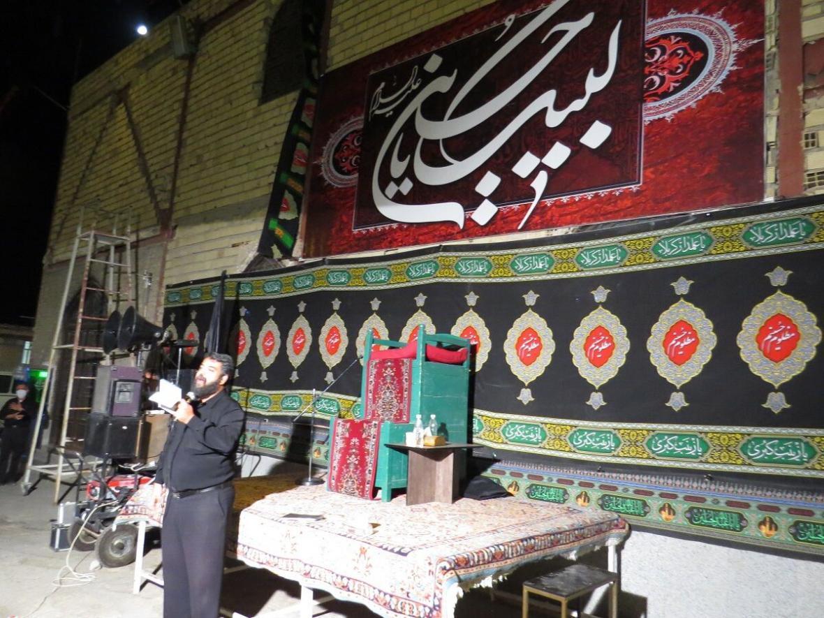 خبرنگاران طنین لبیک یاحسین مردم خراسان شمالی در شب عاشورا