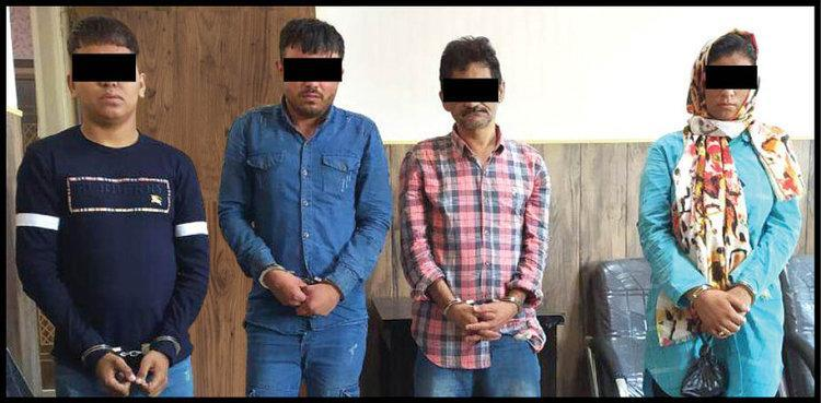 بازداشت مردی که با طعمه قرار دادن همسر خود، رانندگان را خِفت می کرد