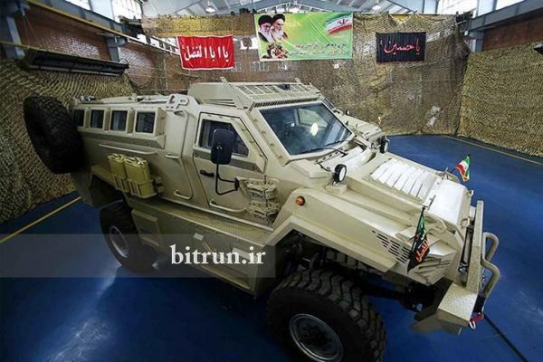 به زودی خودروی نظامی ایرانی از سوی وزارت دفاع تحویل داده می گردد