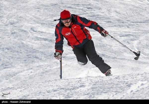 معرفی برترین های مسابقات اسکی آلپاین جانبازان و معلولین در مارپیچ عظیم