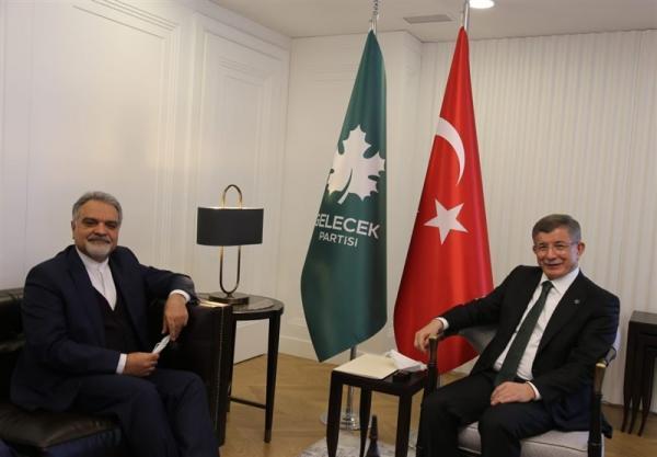 ملاقات سفیر ایران در ترکیه با احمد داوود اوغلو