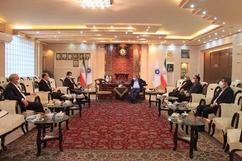 ملاقات با رایزنان جدید بازرگانی ایران در جمهوری آذربایجان و ارمنستان