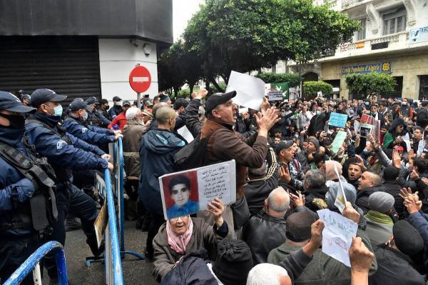 برگزاری تظاهرات ضد دولتی در الجزایر