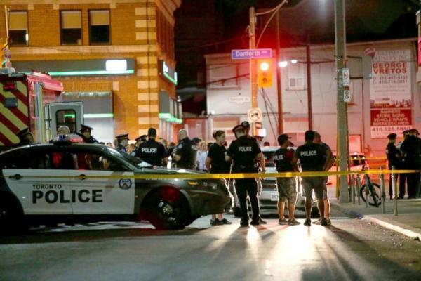 تیراندازی در تورنتو کانادا یک کشته برجای گذاشت