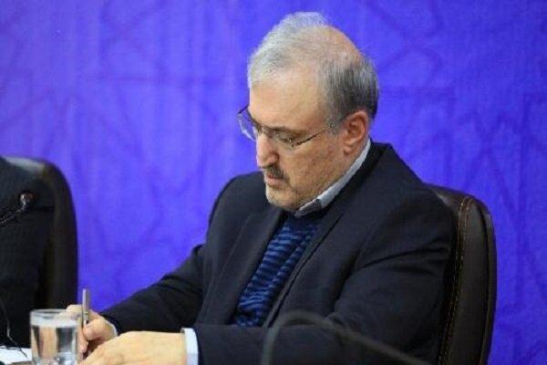 تقدیر وزیر بهداشت از رییس بیمارستان شهدای پاکدشت